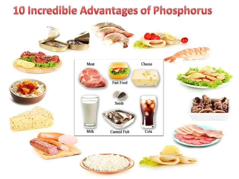 thực phẩm chứa nhiều photpho