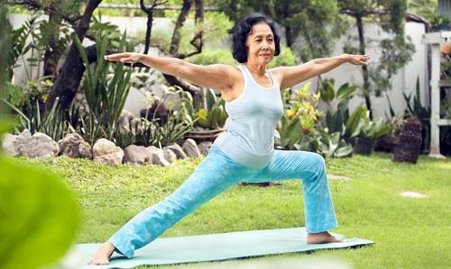 Tập luyện yoga