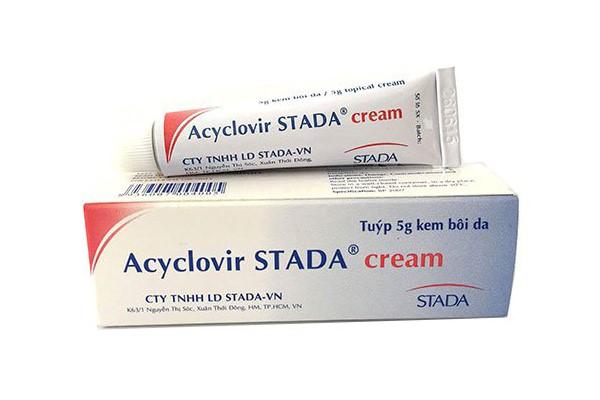 thuốc dạng kem Axyclovir
