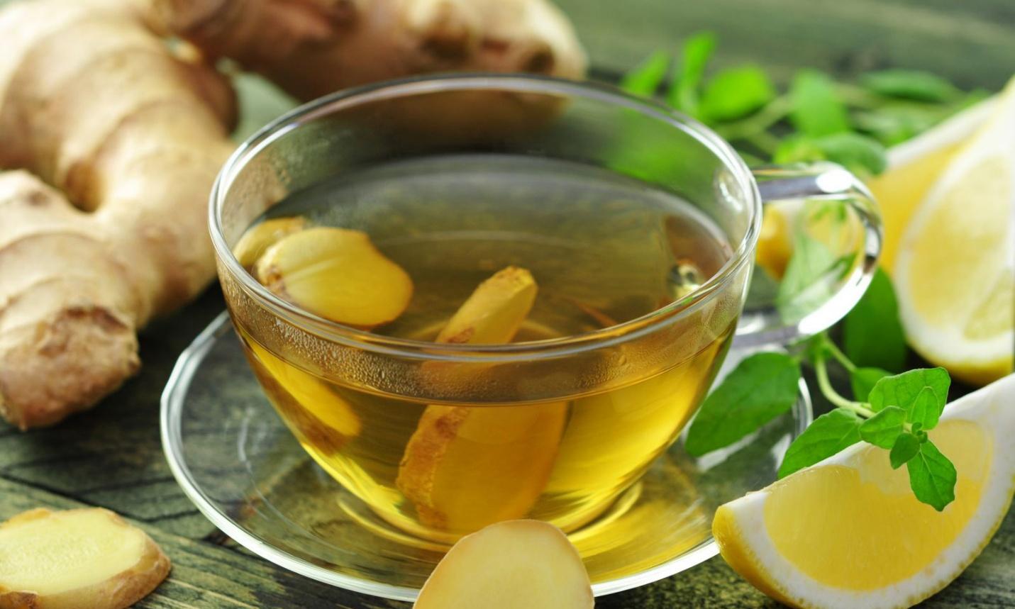 trà gừng trị rối loạn tiêu hóa