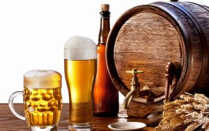 uống nhiều bia rượu