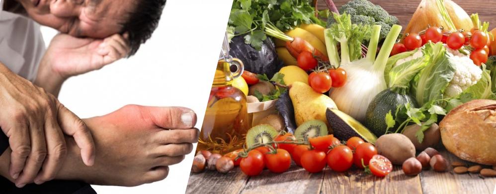 Thực phẩm đóng vai trò quan trọng trong kiểm soát bệnh gút
