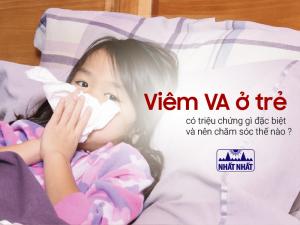 viêm VA ở trẻ em