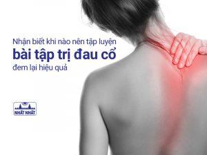 bài tập trị đau cổ