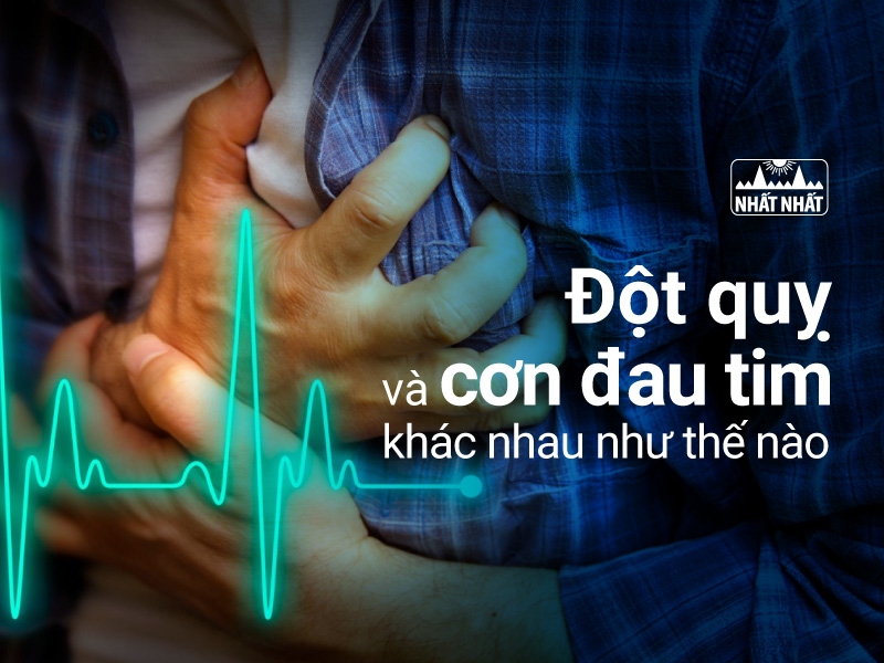 Cơn đột quỵ và đau tim
