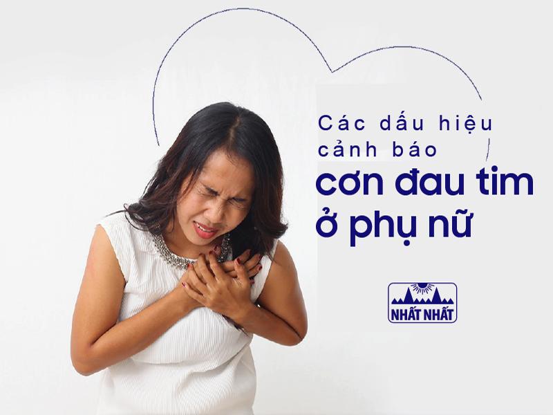 Đau tim ở phụ nữ