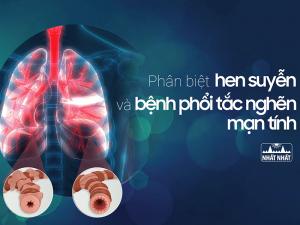 bệnh hen suyễn và bệnh phổi tắc nghẽn mạn tính