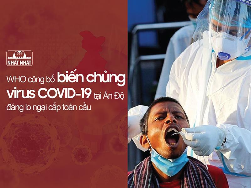 biến chủng COVID-19 tại Ấn Độ