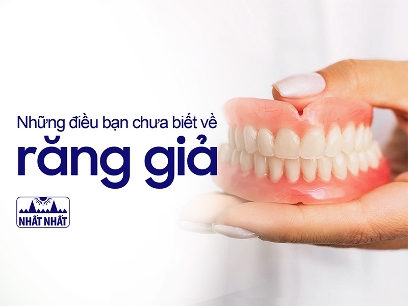 trông răng giả