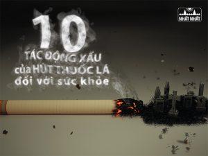 hút thuốc lá đối với sức khỏe