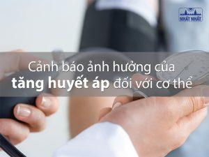 ảnh hưởng huyết áp cao