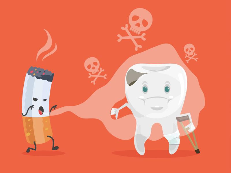 hút thuốc lá ảnh hưởng tới sức khỏe