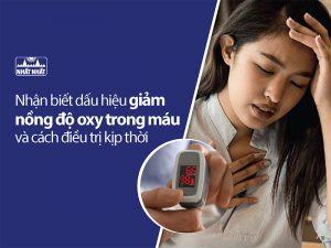 giảm nồng độ oxy trong máu